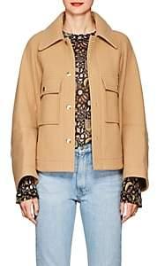 Chloé Women's Wool-Blend Bomber Jacket-Camel