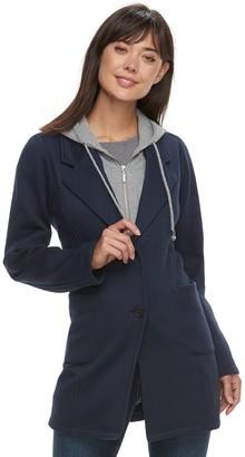 Women's Sebby Collection Hooded Fleece Jacket