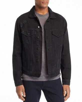 IRO Tanet Distressed Denim Jacket
