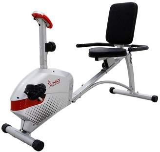 Sunny Health & Fitness Magnetic Recumbent Bike (SF-RB4417)