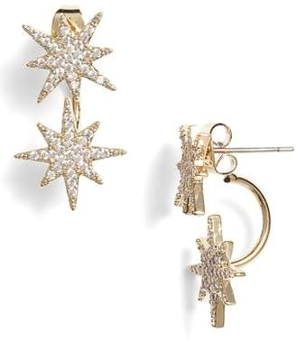 Serefina Small Starburst Ear Jackets