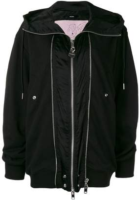 Diesel zipped fitted jacket