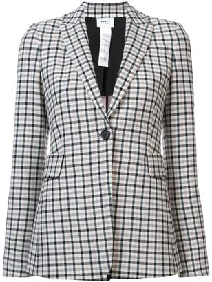 Akris Punto check print blazer