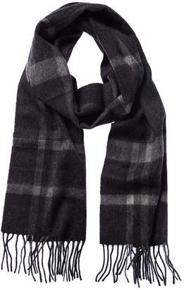 Qi 3 Color Plaid Cashmere Scarf