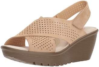 Skechers Women's Parallel-Infrastructure Wedge Sandal
