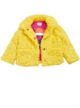 Kenzo Party Faux Fur Coat