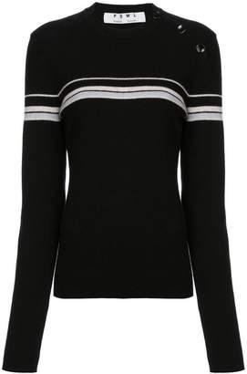 Proenza Schouler PSWL Merino Cashmere Stripe Sweater
