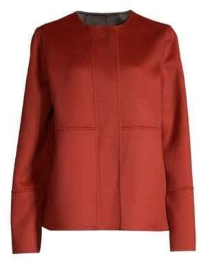 Lafayette 148 New York Rayen Reversible Wool & Cashmere Jacket