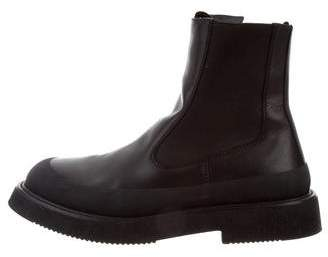 Céline 2017 Leather Country Ankle Boots