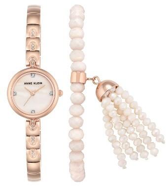 Anne KleinWomen's Anne Klein Bracelet Watch Set, 22Mm