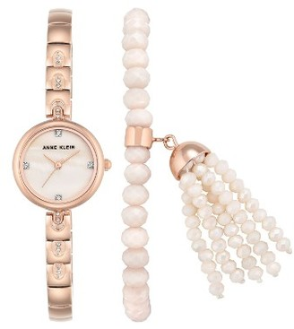Women's Anne Klein Bracelet Watch Set, 22Mm $110 thestylecure.com