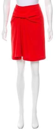 ICB Gathered Knee-Length Skirt