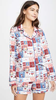 Bedhead Pajamas Special Delivery Shorts PJ Set
