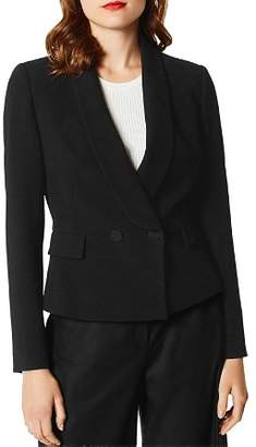 Karen Millen Peplum Double-Breasted Blazer