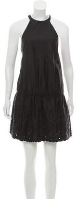 Thakoon Embroidered Halter Dress