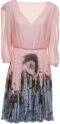 Moschino Pleated Midi Dress