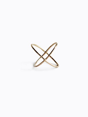 Fashionable X Ring