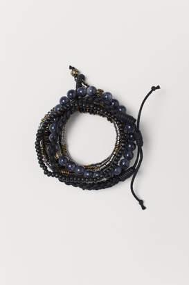 H&M 5-pack Bracelets - Black