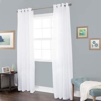 Portsmouth Home 1-Panel Mia Jacquard Window Curtain
