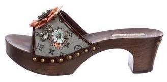 Louis Vuitton Monogram Idylle Floral Sandals