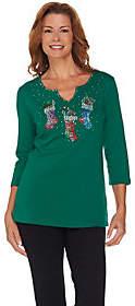 Factory Quacker Super Sparkle Holiday TrioT-shirt