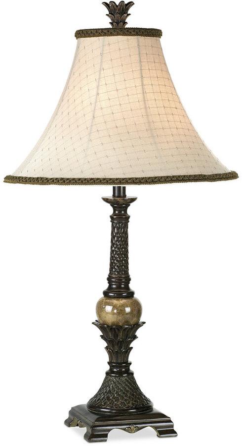Pacific Coast Polynesian Heritage Table Lamp