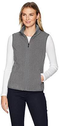 Amazon Essentials Women's Full-Zip Polar Fleece Vest