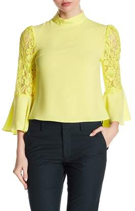 Gracia Lace Bell Sleeve Blouse