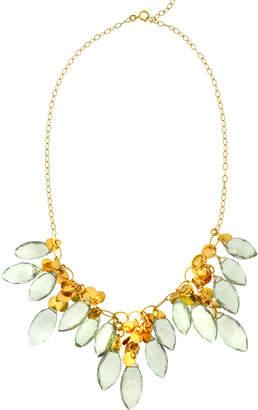 Antoinette Green Amethyst Necklace