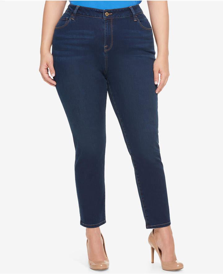 Tommy HilfigerTommy Hilfiger Plus Size Nocturna Blue Wash Skinny Jeans