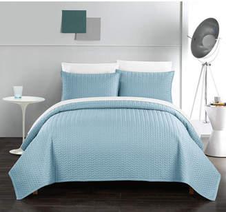 Chic Home Weaverland 3 Piece Queen Quilt Set Bedding