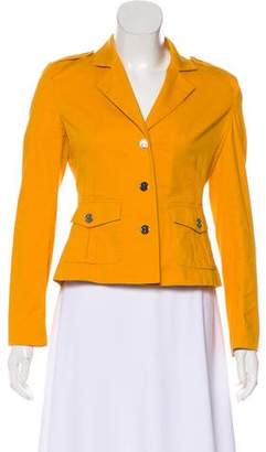 Tory Burch Notched-Lapel Long Sleeve Jacket