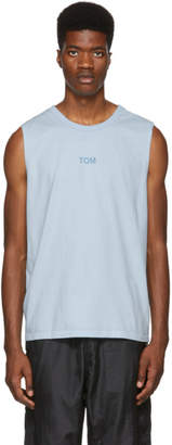 Bianca Chandon Blue Tom Bianchi Edition Tom Tank Top