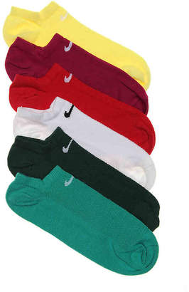 Nike Bright Performance No Show Socks - 6 Pack - Women's