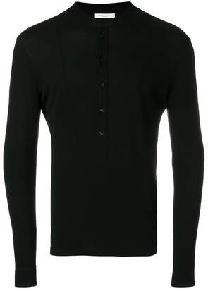 Paolo Pecora long sleeve polo shirt