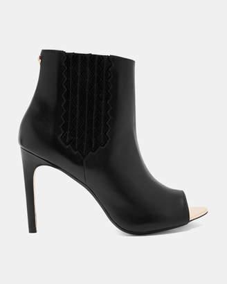 Ted Baker LARIZEN Peep toe heeled boots