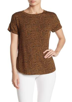 H By Bordeaux Patterned Dolman Sleeve T-Shirt