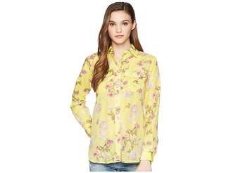 Lauren Ralph Lauren Floral Button Down Shirt Women's Clothing