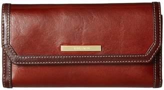 Brahmin Westport Soft Checkbook Wallet Wallet Handbags