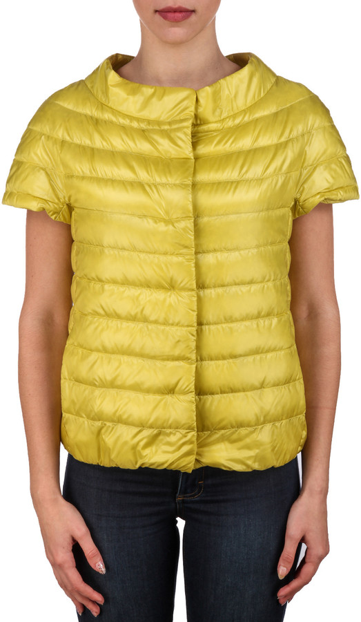 Herno Herno Glossy Quilted Padded Gilet