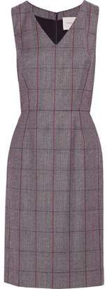 Carolina Herrera Checked Wool Dress