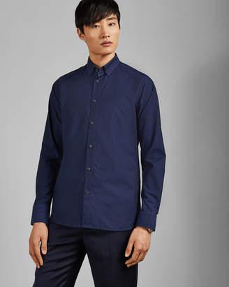 Ted Baker NOTLONG Geo spot cotton shirt