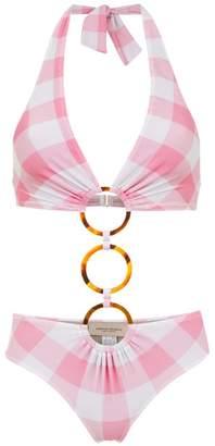Adriana Degreas Checked swimsuit