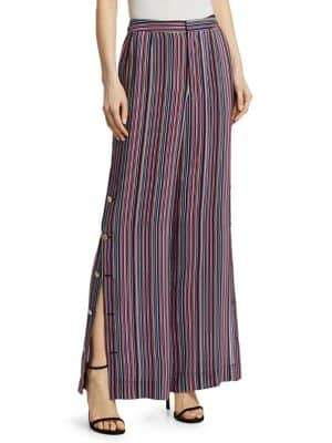 Nanette Lepore The Big Sleep Striped Pants
