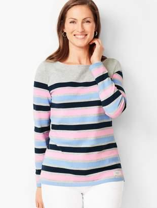 ceb02bce1ad2e8 Stripe Tops Women Petite - ShopStyle