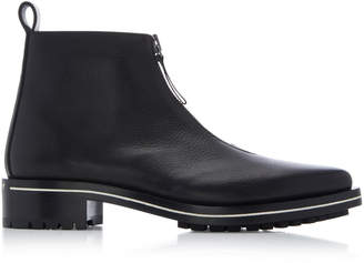 Givenchy Richmond Zip Calfskin Chelsea Boots