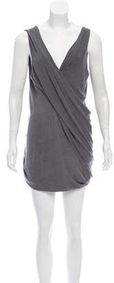 Donna Karan Draped Midi Dress