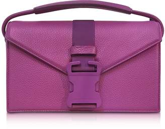 Christopher Kane Purple Grained Leather Devine Og Bag