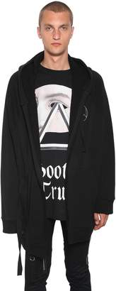 Undercover Oversized Cotton Cardigan W/ Hood