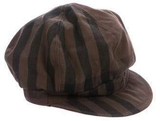Burberry House Check Newsboy Hat